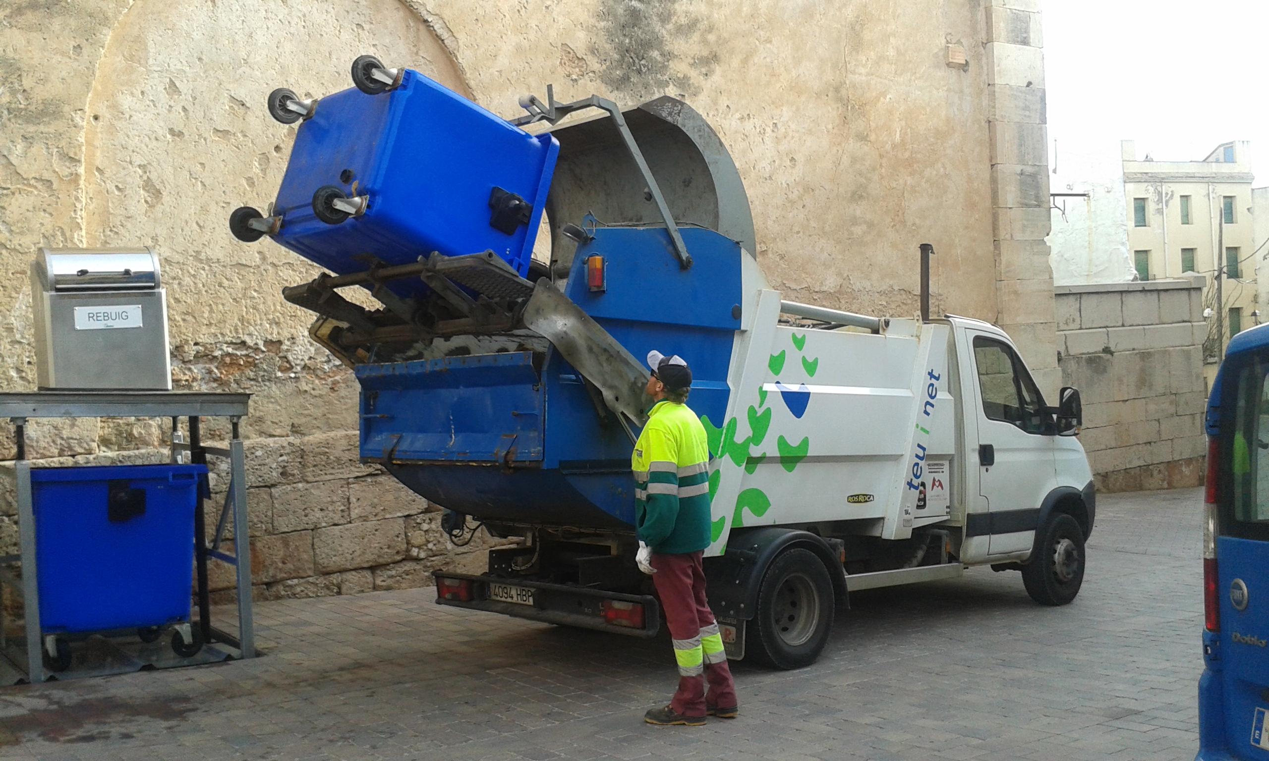 Servicio de recogida de residuos