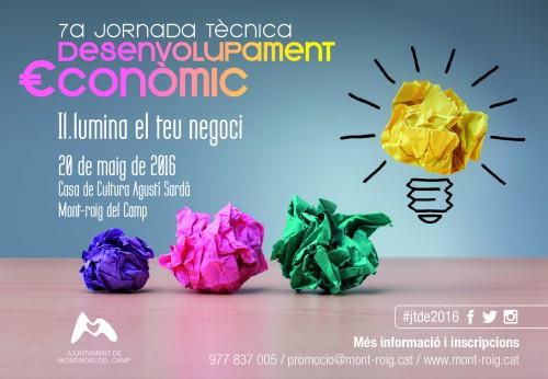 7a Jornada Tècnica Desenvolupament Local