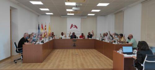 Primera sessió plenària presencial de l'Ajuntament de Mont-roig del Camp post Covid19