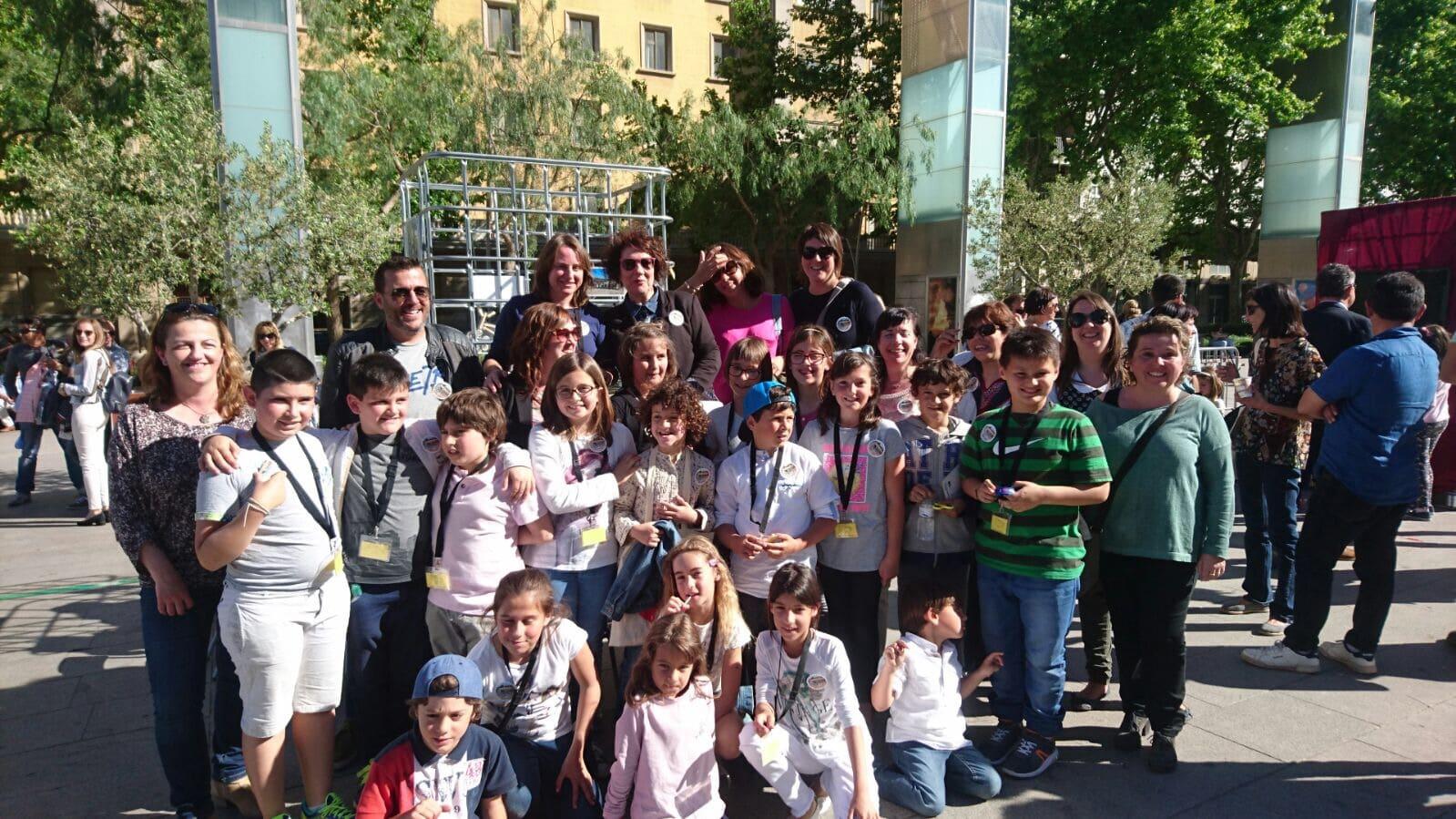Alumnos De La Escuela Marcel Lí Esquius Presentan En Reus Un
