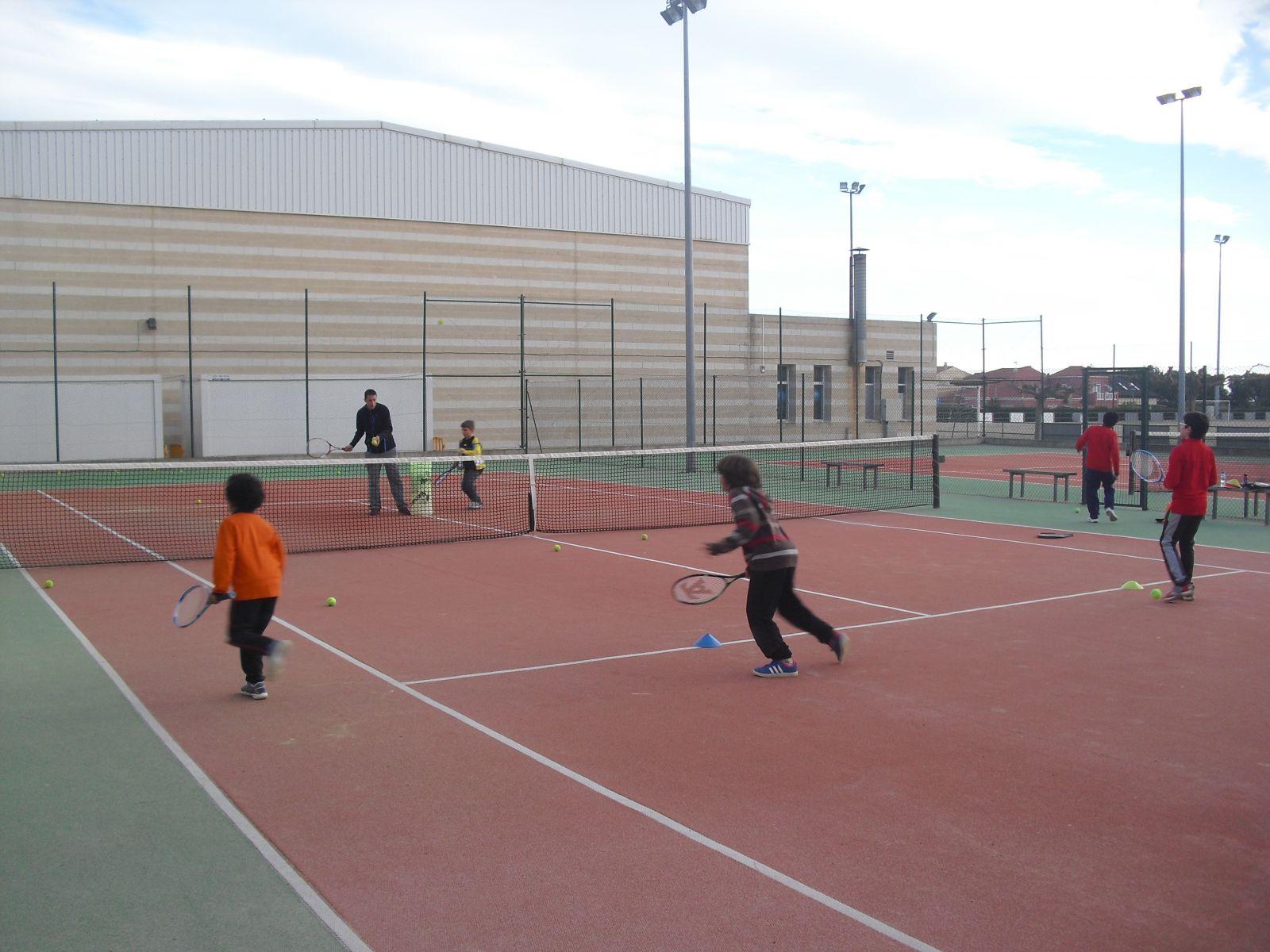 Clase de tennis