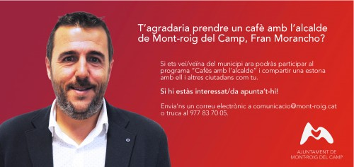 Programa Cafès amb l'alcalde