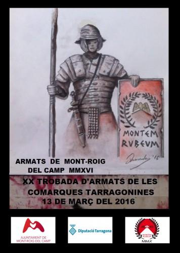 """""""XX Trobada d'armats"""" de las comarcas tarraconenses"""