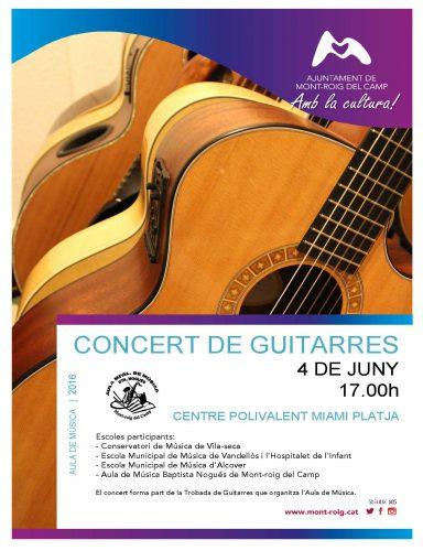 Cartell Concert de guitarres