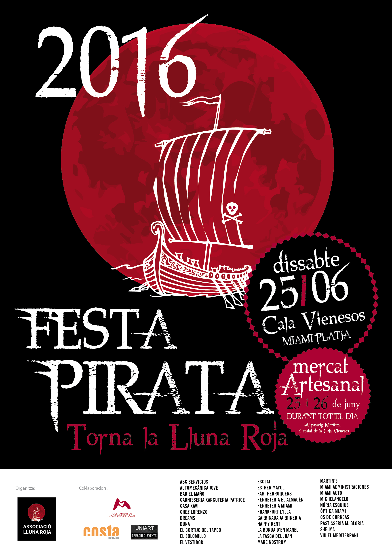 Miami Platja Celebrará El Sábado 25 De Junio La Fiesta Pirata Ajuntament De Mont Roig Del Camp