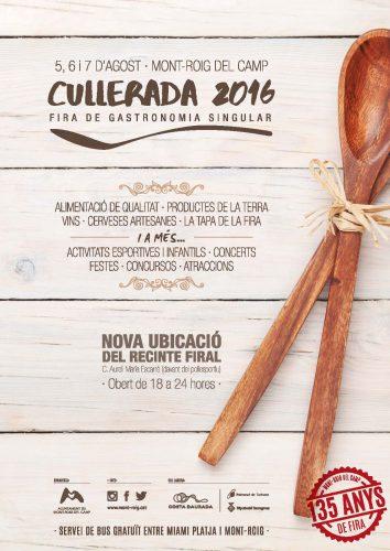 Cartell Fira Cullerada 2016