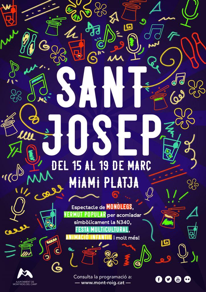 Las Fiestas De Sant Josep Traerán A Miami Platja 5 Días De Actividades Para Todos Los Públicos Ajuntament De Mont Roig Del Camp