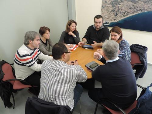 Reunió Departaments Educació Mont-roig del Camp i Vandellòs-l'hospitalet de l'Infant