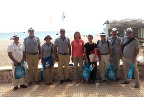 Delegació turca a la Platja Cristall