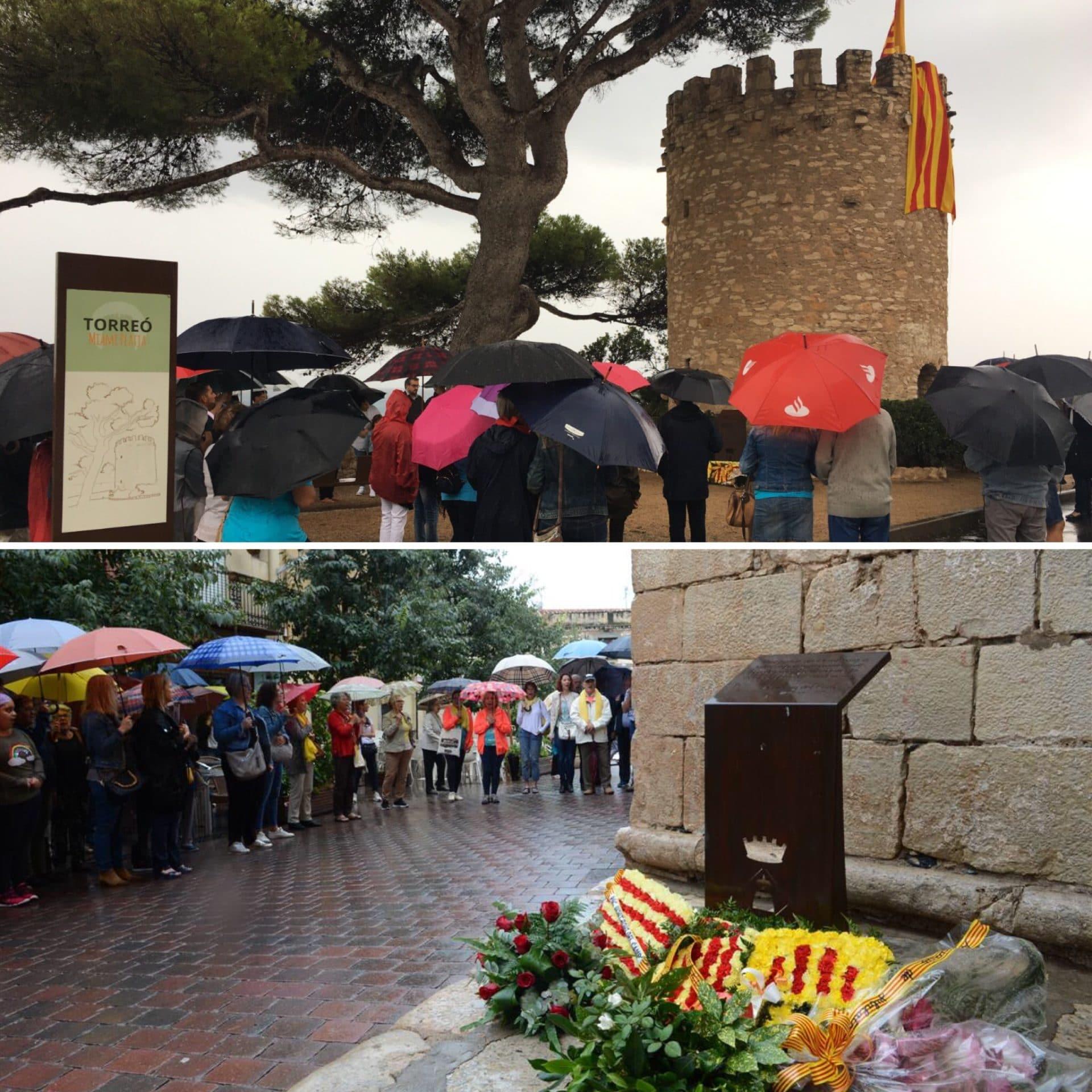 Actes institucionals amb motiu de la Diada Nacional de Catalunya a Miami Platja i a Mont-roig.