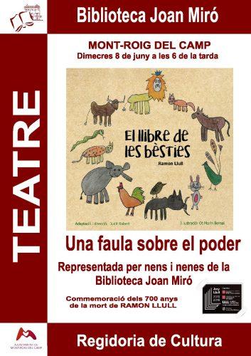El llibre de les bèsties (teatre)