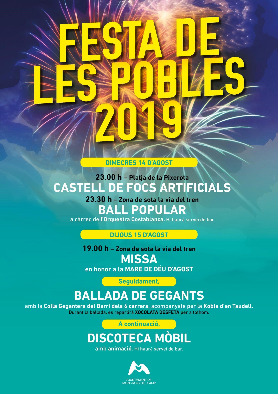 Festa De Les Pobles Ajuntament De Mont Roig Del Camp