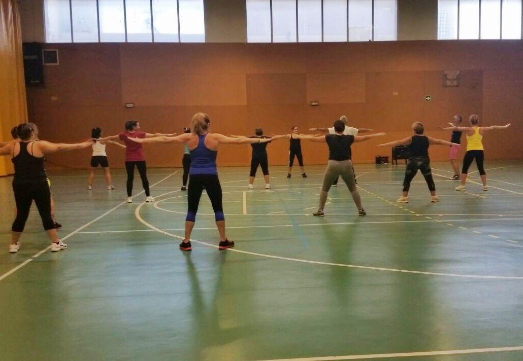 Classe de gimnàstica de manteniment