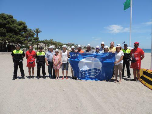 Les platges Cristall i Pixerota revaliden les Banderes Blaves