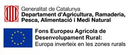 Logotip Generalitat i FEADER