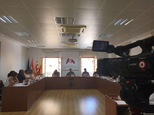 Ple Ajuntament de Mont-roig del Camp- 8 juny 2016