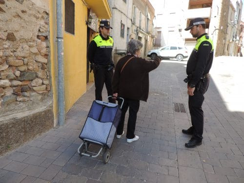 Nuevo servicio de atención policial en el núcleo de Mont-roig