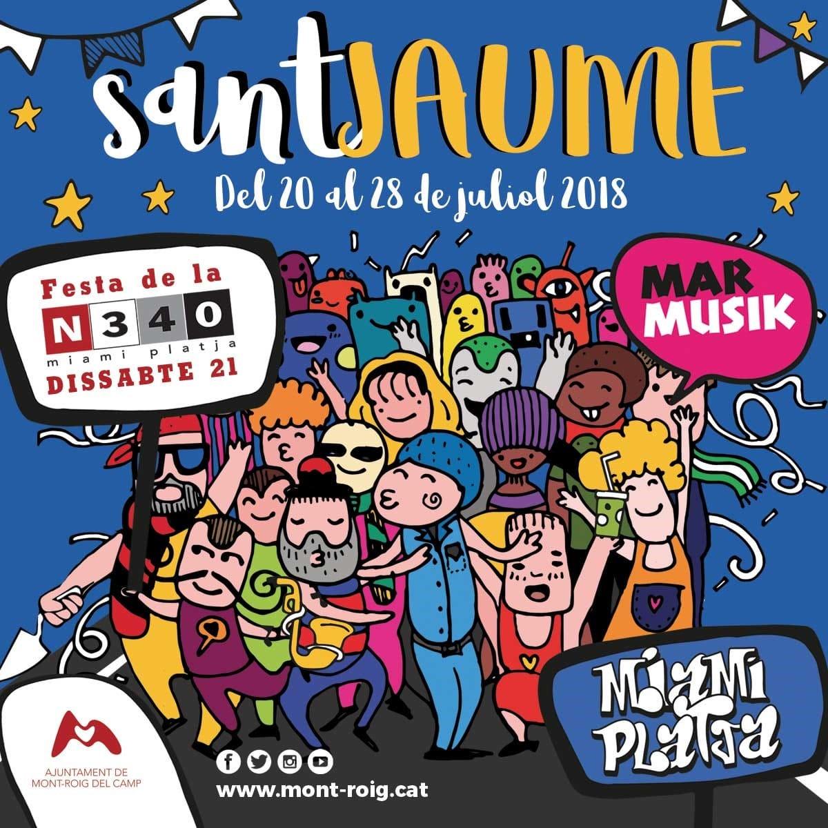 La Música Y La Fiesta Protagonistas De La Programación De Sant Jaume Ajuntament De Mont Roig Del Camp