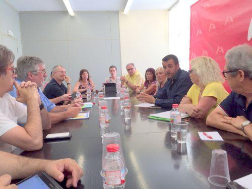 Trobada Plataforma CAP Miami 24 hores, Serveis Territorials de Salut i Ajuntament_