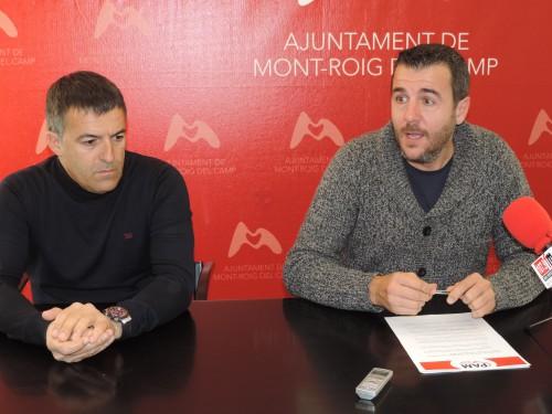 Vicente Pérez, regidor d'Urbanisme i Fran Morancho, alcalde de Mont.roig del Camp_2