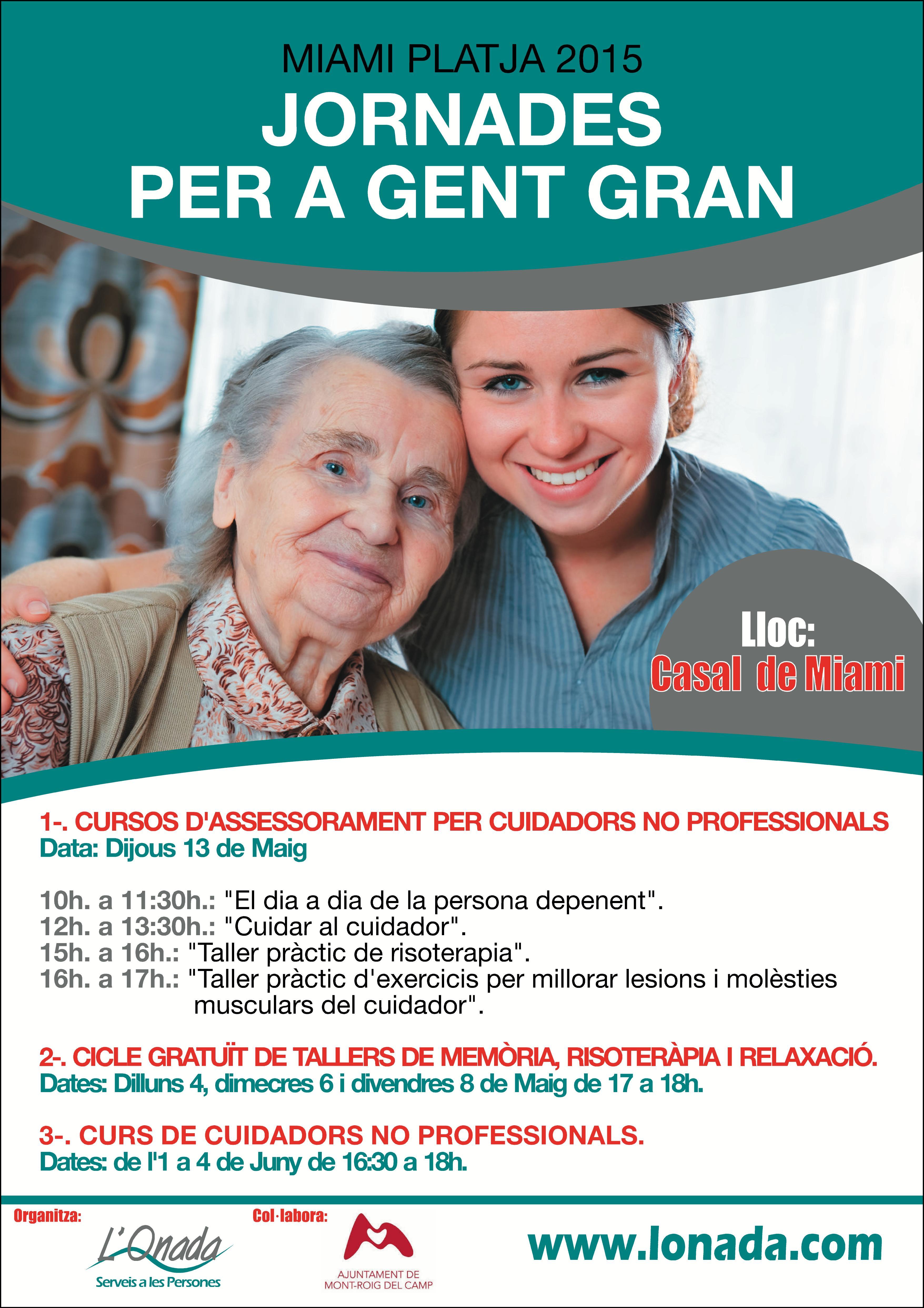 Jornadas para cuidadores no profesionales