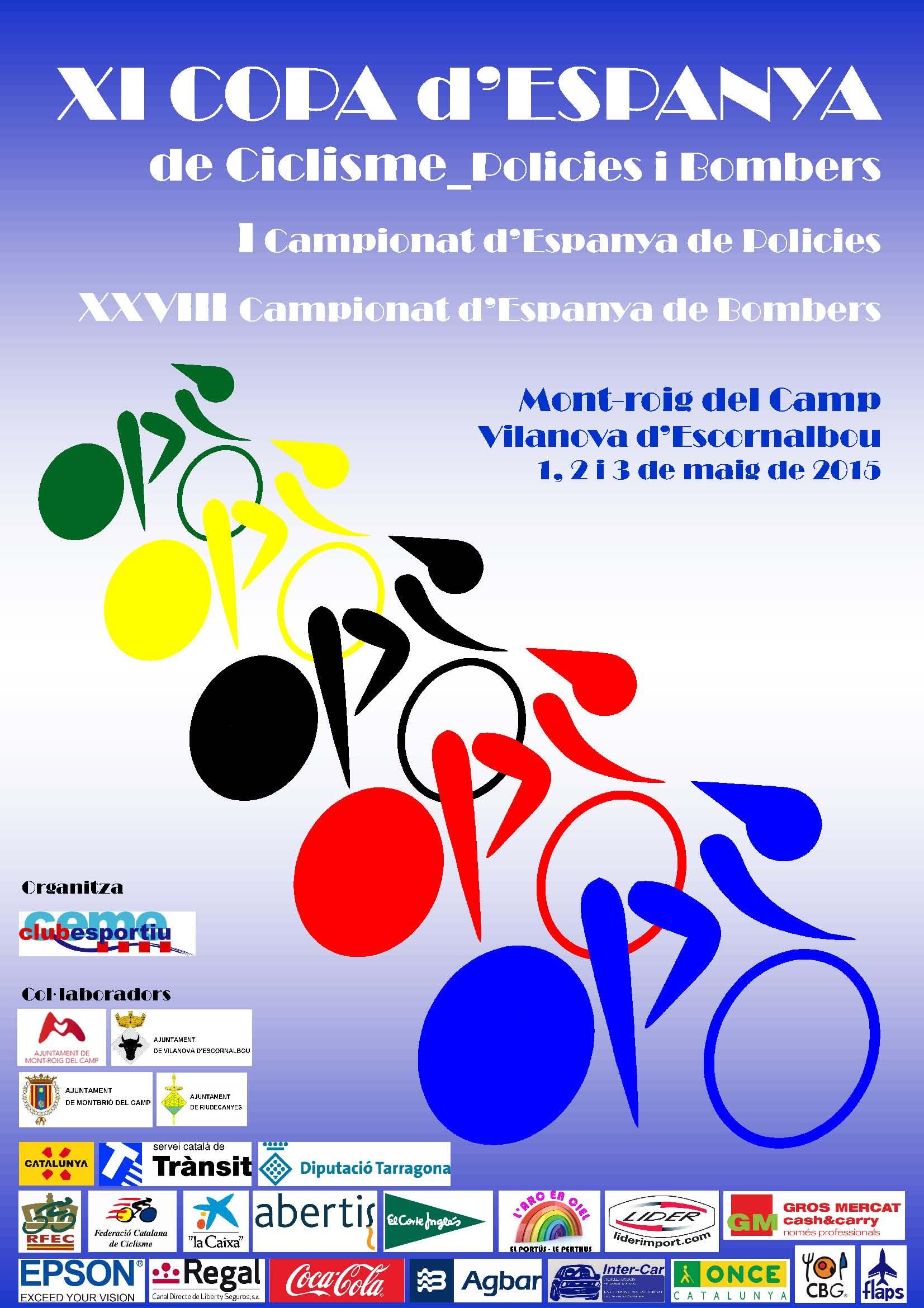 XI Copa de Espanya de ciclismo de policías y bomberos