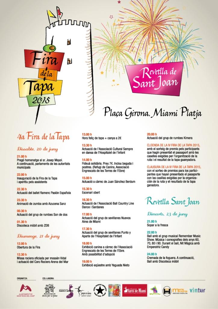 4ª Feria de la Tapa y Verbena de San Juan