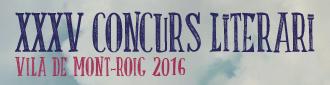 Concurs Literari 2016