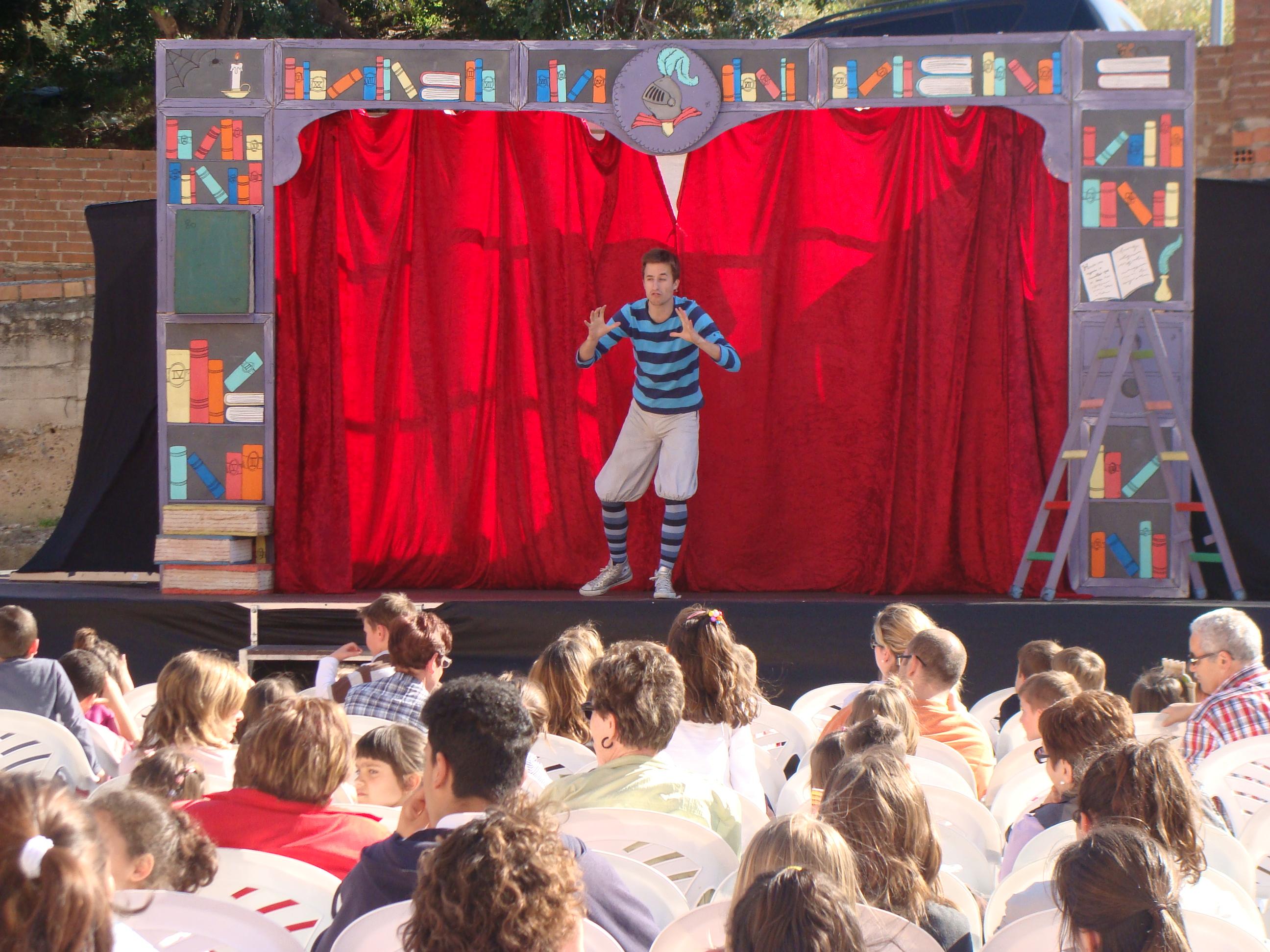 Espectacle infantil Sant Jordi 2013