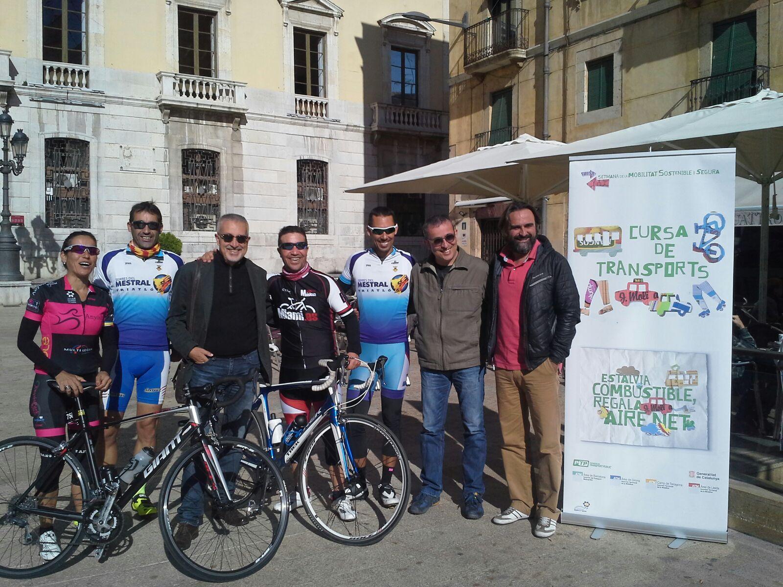 Mont-roig del Camp participa a la Cursa de Transports 2015