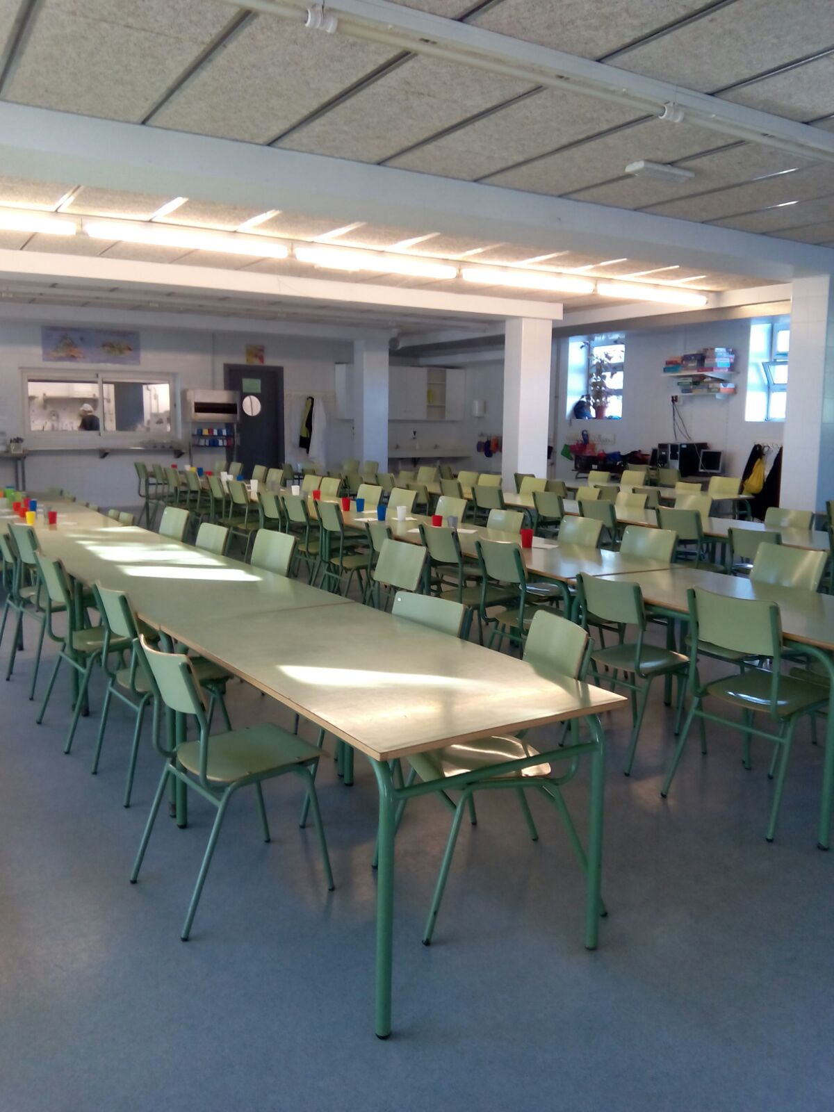 Menjador escolar del CEIP Joan Miró