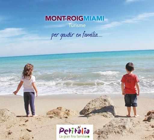 Mont-roigMiami Turisme se promociona en Petitàlia