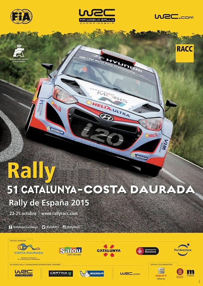 El Rally Racc Costa Daurada farà parada a Mont-roig del Camp
